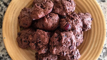 Double Chocolate Chip Date Cookies