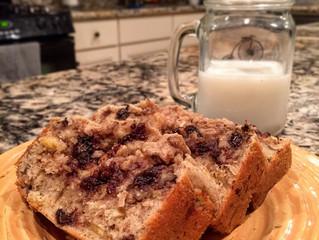Protein Banana Walnut Bread