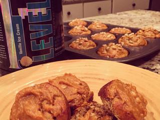 Low Carb Protein Pumpkin & Pine Nut Scones