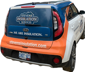 We are insulation. Stevens Insulation Services.