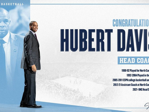 Heel Tough Blog: Hubert Davis to be Next Head Coach at UNC