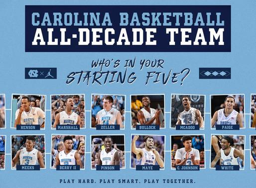 Heel Tough Blog: Carolina Basketball All-Decade Starting 5