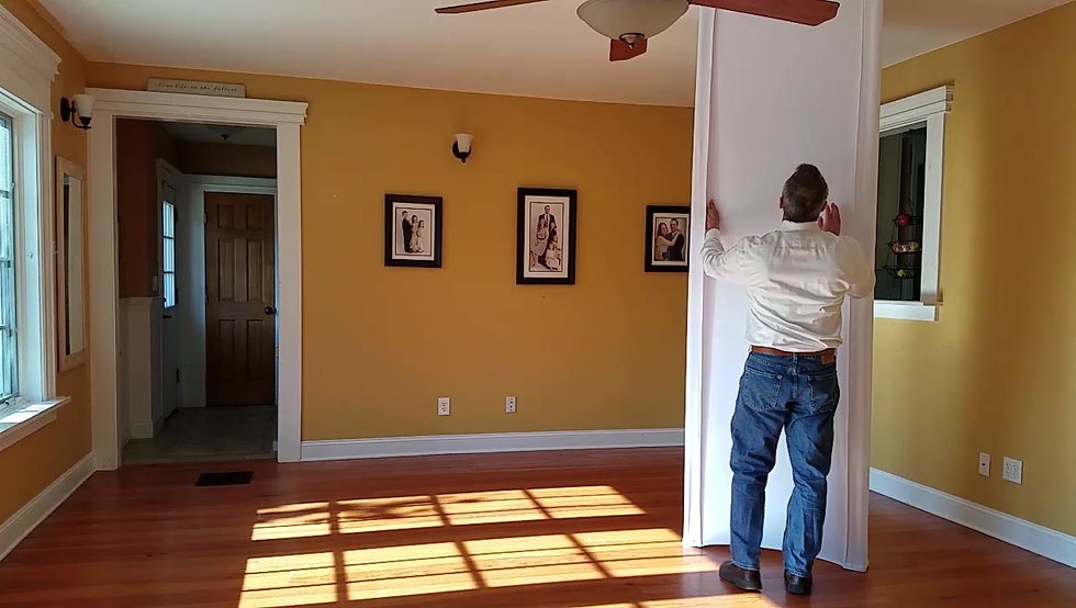 Move and Adjust Nookwalls DIY Temporary Wall System as You Wish