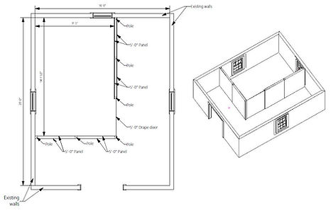 Nookwall Drawing of Layout for Customer