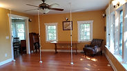 """Nookwalls """"Thick"""" Room Divider System, Poles Are Setup"""