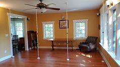 Setup poles for Nookwalls Room Divider