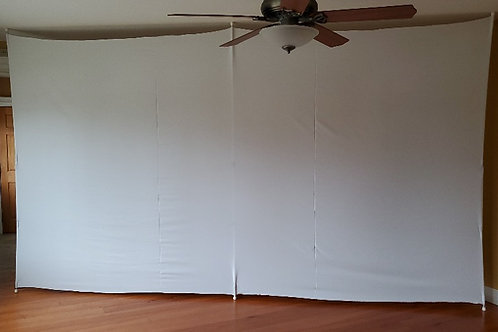 """15 Foot Long """"Thin"""" Partition Wall"""