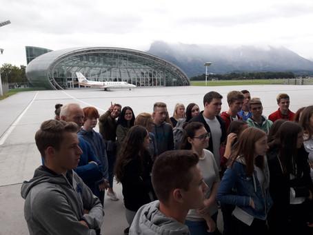 Exkursionstag zu Voglauer und Hangar 7