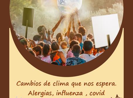 ¡CAMBIOS CLIMATICOS Y EL COVID-19 !