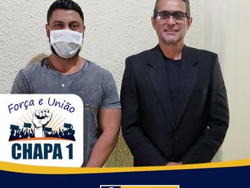 Chapa 1- FORÇA E UNIÃO não teve impugnação e concorre novamente para o mandato sindical 2021/2025
