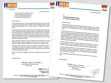 Sindicato oficializa no município pedido de vacinação para os bancários de Juazeiro