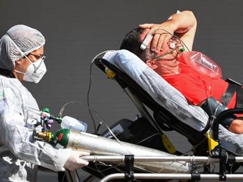 Brasil vive terror com pandemia descontrolada