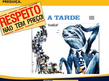 Sindicato dos Bancários de Juazeiro repudia Charge do Jornal A Tarde que compara funcionários da Cai