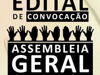 ASSEMBLEIA GERAL ORDINÁRIA EDITAL DE CONVOCAÇÃO