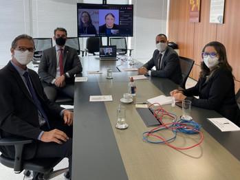 Em Brasília, Feebbase e sindicatos se reúnem com o Ministério Público do Trabalho