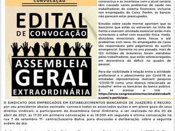 Atenção Bancários: Já saiu a PRIMEIRA edição do mês de ABRIL do Jornal O Brado