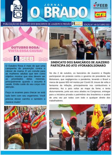 Atenção Bancários: Já saiu a SEGUNDA edição do mês de SETEMBRO do Jornal O Brado