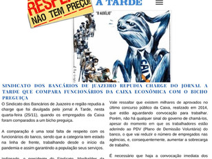Atenção Bancários: Já saiu a SEGUNDA edição do mês de NOVEMBRO do Jornal O Brado