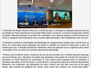 Atenção Bancários: Já saiu a PRIMEIRA edição do mês de JULHO do Jornal O Brado