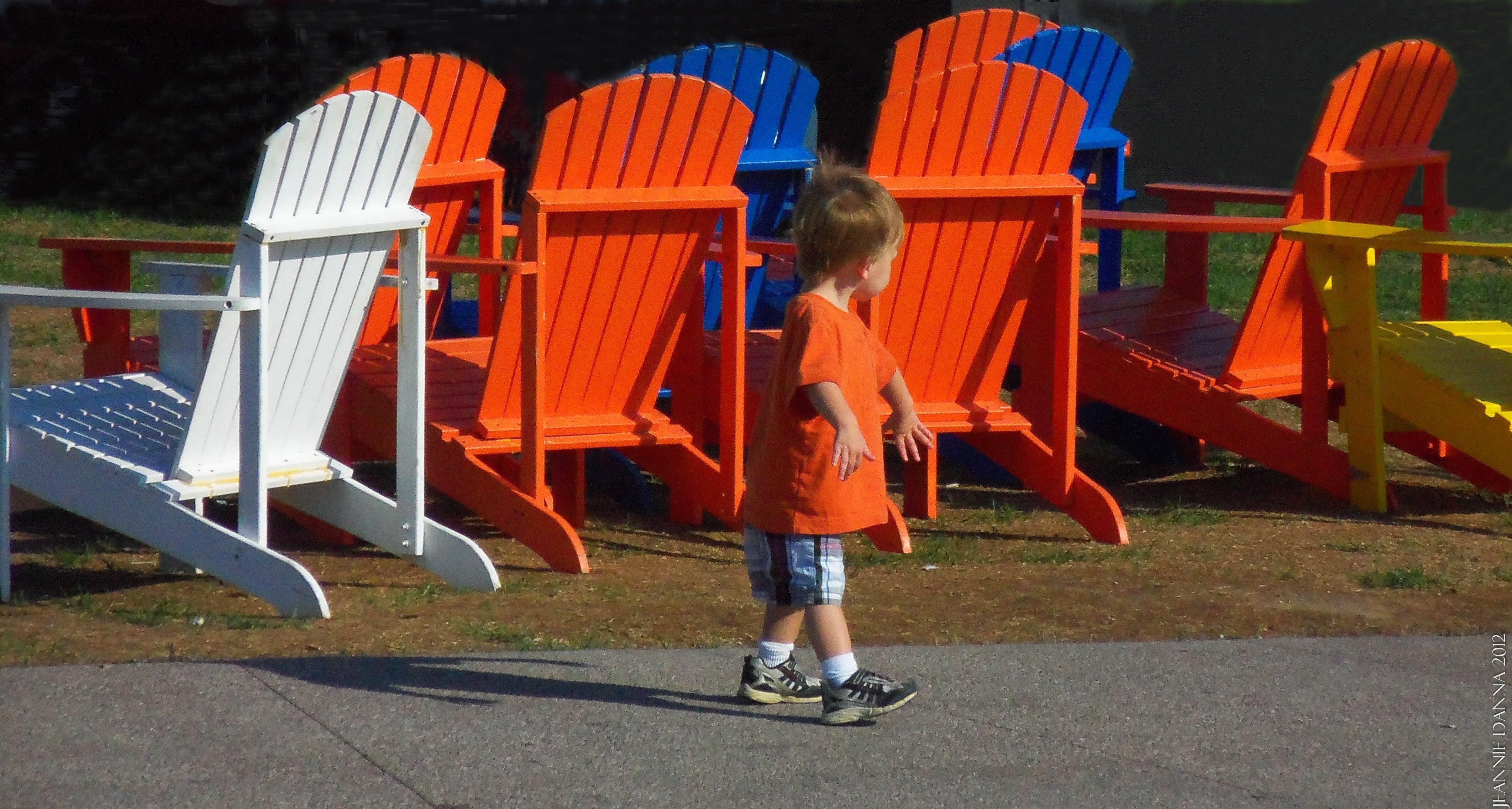 Boy & Chairs