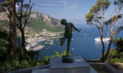 sul tetto di Capri