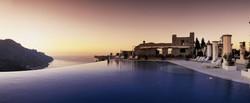 Hotel Caruso piscina