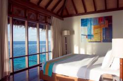 escape water villa indoor