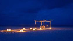 private dinner beach