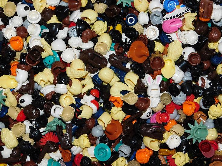 LEGO MiniFigure HAIRS / HATS