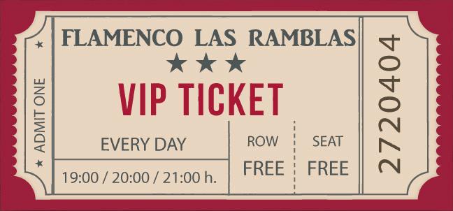 Flamenco Barcelona Ticket Vip
