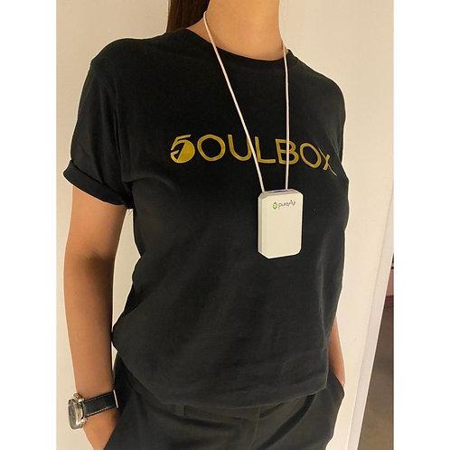 SOULBOX GOLD FRONT T-SHIRT