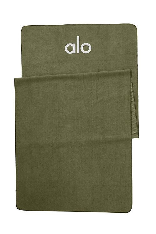 ALO YOGA GROUNDED NO-SLIP TOWEL