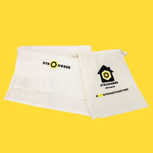 STRONGBEE PREMIUM SMALL TOWEL AND POUCH