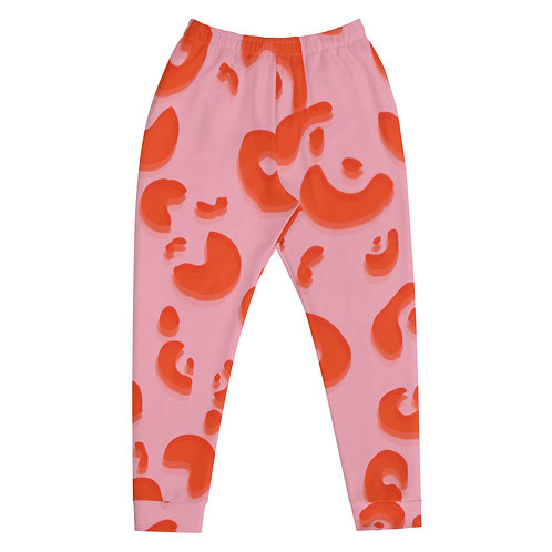 Pink Animal Print Sweatpants