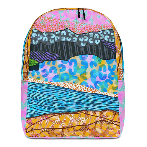 Artist called LO print Backpack