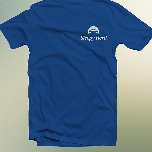 Sleepy Herd T-shirt - Blue