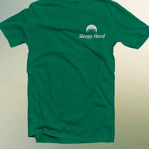 Sleepy Herd T-shirt - Green