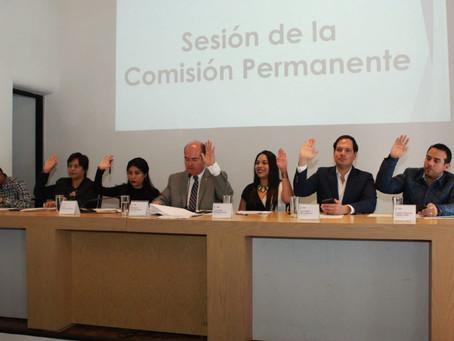 En Comisión Permanente se presentan Iniciativas y Puntos de Acuerdo para fortalecer la seguridad en