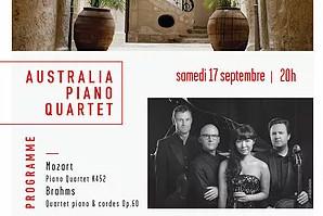 17.9.16 | Australia Piano Quartet | Les Concerts de Magnol