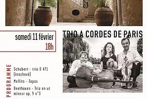 11.02.17 | Trio à cordes de Paris | Les Concerts de Magnol