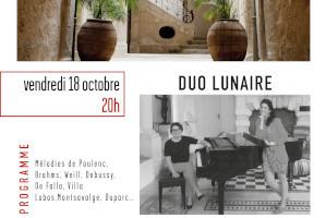 18.10.19 Duo Lunaire | Les Concerts de Magnol