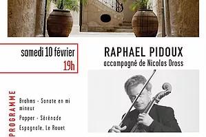 10.02.18 | Raphaël Pidoux | Les Concerts de Magnol