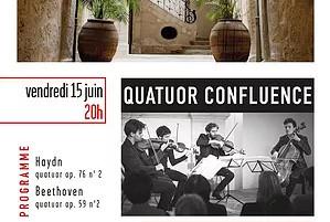 15.06.18 | Quatuor Confluence | Les Concerts de Magnol