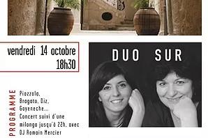 14.10.16 | Duo Sur | Les Concerts de Magnol