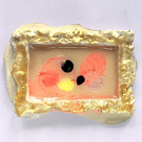 Cuadrito 2/500 - 5 x 3,5 cm