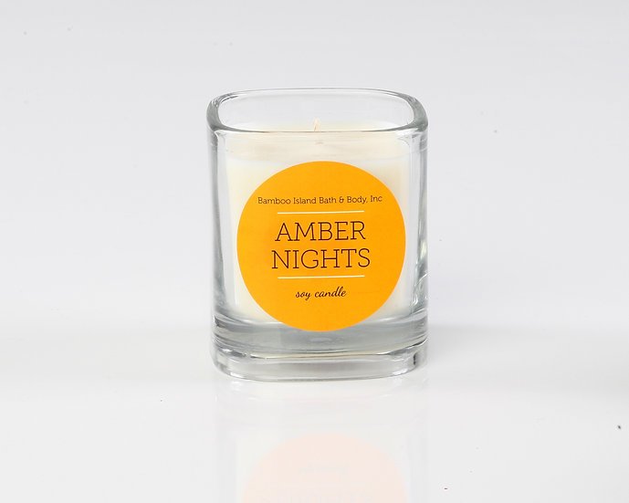 Amber Nights Soy Candle