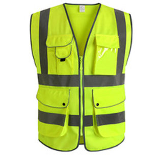 HIGH VISIBILITY CONSTRUCTION SAFETY VEST