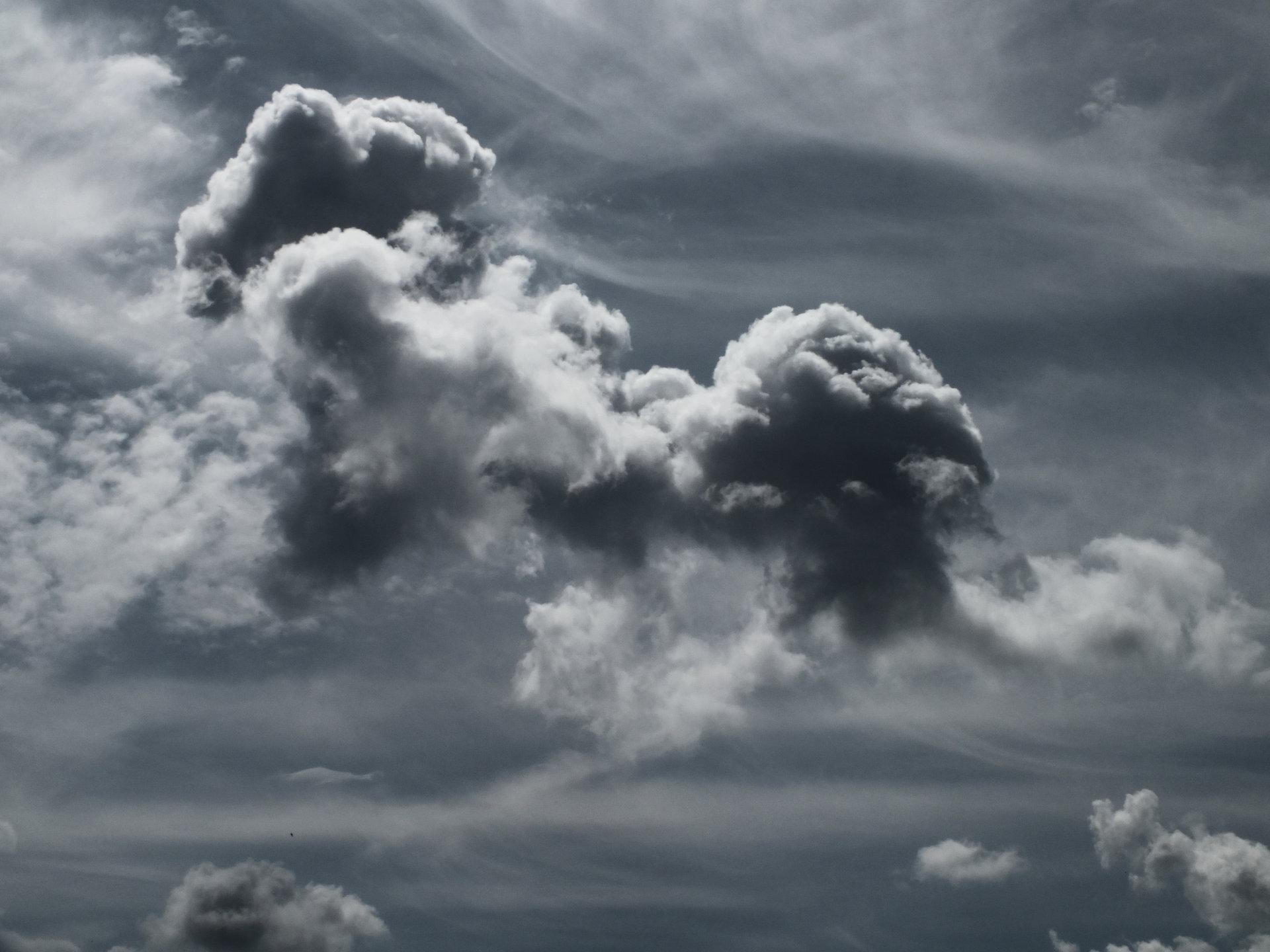 Der Himmel über Aachen