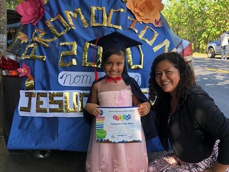 El Salvador Students Celebrate Graduating to Next Grade Level