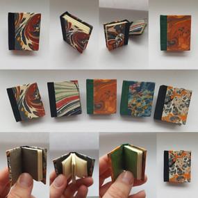Tiny books Pins - Member's work: Arielle VanderSchans